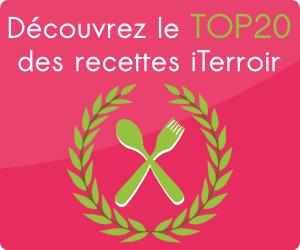 top 20 recettes iTerroir
