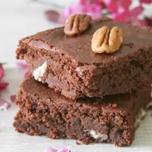 Brownie fondant aux noix de pécan