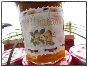 Confitures de mirabelles l 39 eau de vie de mirabelles version avec thermomix recette iterroir - Recette avec des mirabelles ...