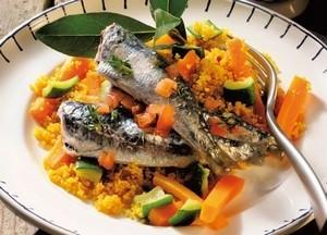 Couscous de sardines