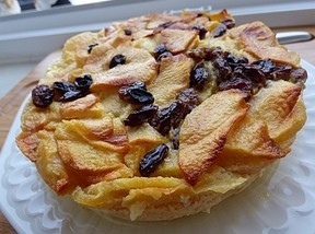Flans aux pommes à l'alsacienne