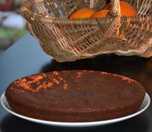 Gâteau au chocolat et au piment d'Espelette