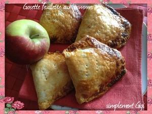 gosette aux pommes