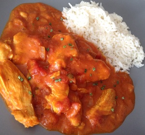 Filets De Poulet Au Curry Tomates Et Lait De Coco Recette Iterroir