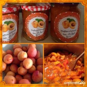 confiture abricot vanille citron