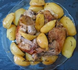 Poulet au citron recette iterroir - Cuisiner un poulet entier ...
