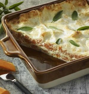 Lasagnes au potiron et à la sauge