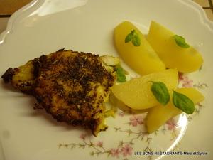 Filet de lieu noir marin au piment d 39 espelette recette - Cuisiner filet de lieu noir ...