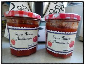 Sauce tomate conserve