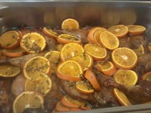 cuisses de canard l orange cuites au four recette iterroir. Black Bedroom Furniture Sets. Home Design Ideas
