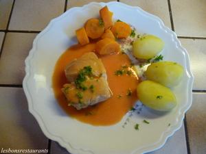Dos de cabillaud sauce aurore recette iterroir - Cuisiner dos cabillaud ...