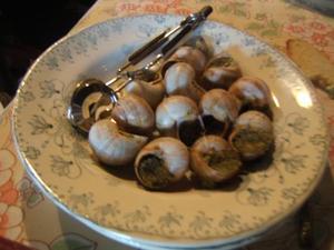 Escargots farcis recette iterroir - Cuisiner les escargots ...