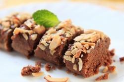 Fondant au tofu chocolat et amande recette iterroir for Amande cuisine bjorg