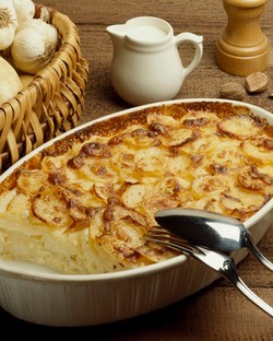 gratin dauphinois sans lactose recette iterroir. Black Bedroom Furniture Sets. Home Design Ideas