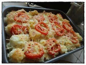 Gratin de chou fleur la tomate recette iterroir - Choux de bruxelles recette gratin ...