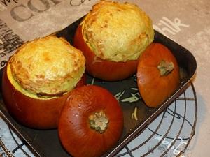Hachis parmentier en coque de potimarron recette iterroir - Cuisiner les potimarrons ...