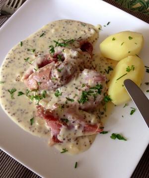 Jambonneau moutarde a l 39 ancienne ma fa on recette iterroir - Cuisiner un jambonneau ...