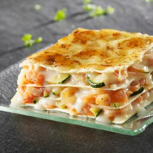 Lasagne Courgettes Et Crevettes Recette Iterroir
