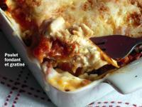 lasagnes au poulet recette iterroir. Black Bedroom Furniture Sets. Home Design Ideas