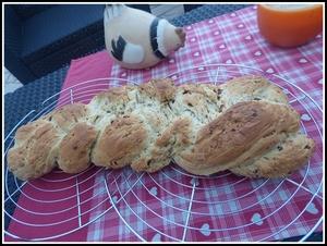 Le z pf ou pain aux raisins au thermomix recette iterroir - Livre thermomix ma cuisine 100 facons ...
