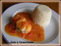 Lotte l 39 armoricaine et corce d 39 orange recette iterroir - Lotte al armoricaine recette cuisine ...