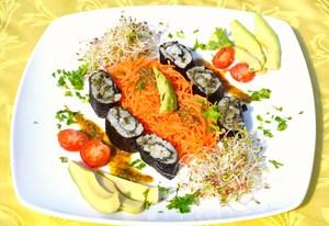 Maki sushi aux algues