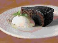 Moelleux au chocolat la farine et au lait de riz for Moelleux chocolat micro ondes