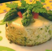 Mousseline d 39 asperges vertes la pistache recette iterroir - Cuisiner les asperges vertes ...