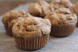 Muffins aux dattes & graines de citrouille