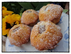 Muffins express aux blancs d 39 oeufs recette iterroir - Recette blanc d oeuf thermomix ...