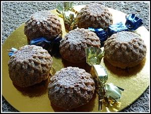 Muffins à la noisette au thermomix