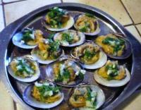 Palourdes farcies aux herbes et chalotes recette iterroir for Cuisiner des palourdes
