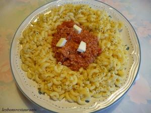 P tes au gorgonzola jambon fum et tomates s ch es recette iterroir - Pate a la mozzarella ...
