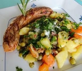 Petits pois facon jardini re recette iterroir - Cuisiner les petits pois ...