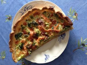 Quiche au brocolis et au saumon fum recette iterroir - Cuisiner brocolis surgeles ...