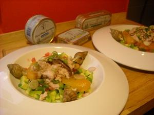 salade d avocat et thon blanc germon recettes sans allerg nes. Black Bedroom Furniture Sets. Home Design Ideas