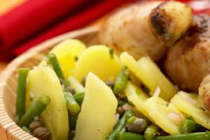 salade de pommes de terre et haricots verts recette iterroir. Black Bedroom Furniture Sets. Home Design Ideas