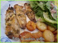 Sardines grill es au four recette iterroir - Chataignes grillees au four ...