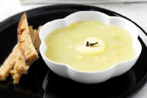 soupe aux poireaux pommes de terre recette iterroir. Black Bedroom Furniture Sets. Home Design Ideas