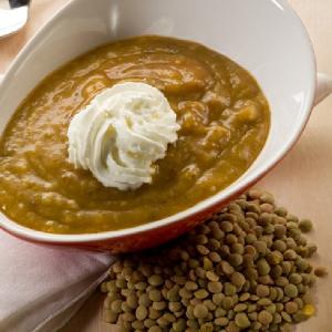 Soupe de lentilles blondes recette iterroir - Comment cuisiner des lentilles blondes ...