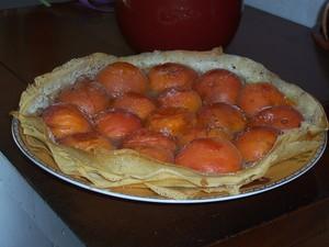 Tarte aux abricots en feuilles de brick recette iterroir - Cuisiner feuille de brick ...