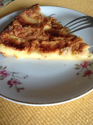 tarte flan aux pommes recette iterroir. Black Bedroom Furniture Sets. Home Design Ideas