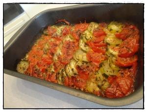 tian de courgettes et tomates recette iterroir. Black Bedroom Furniture Sets. Home Design Ideas
