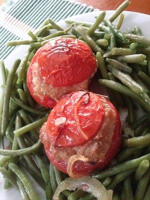 tomates farcies la saucisse francfort recette iterroir. Black Bedroom Furniture Sets. Home Design Ideas