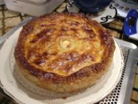 Tourte aux cuisses de canard confites et aux champignons - Cuisiner des cuisses de canard confites ...
