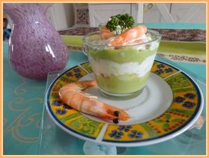 Verrines Avocat Et Crevettes Au Philadelphia Recette Iterroir