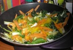 Wok De Nouilles Chinoises Aux Legumes Recette Iterroir