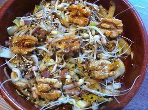 Salade d'endive bio vitaminée