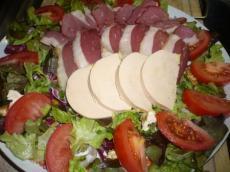 salade fra cheur de magret de canard et foie gras recette iterroir. Black Bedroom Furniture Sets. Home Design Ideas