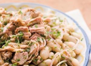 Thon blanc germon aux haricots blancs